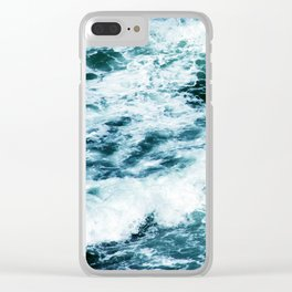 Through the Valley of the Shadow of Death Clear iPhone Case