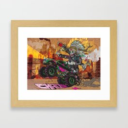 Wolves & Scandals Framed Art Print