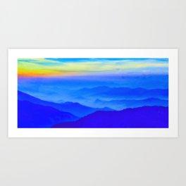 Nepal Sunrise Art Print
