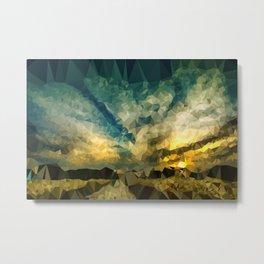 Image of a Sunset Metal Print