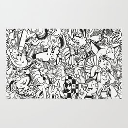 Coloring Page For Literacy Rug