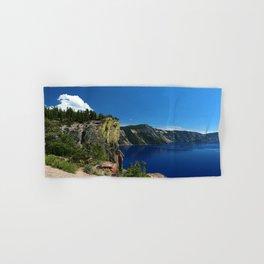 Crater Lake  and Lavacliffs Hand & Bath Towel