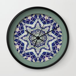 Looking Up Dome Mandala Wall Clock