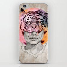 The Tiger Lady iPhone & iPod Skin