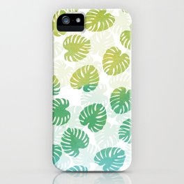 Monstera Madness iPhone Case