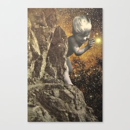 Cosmic Boy Canvas Print