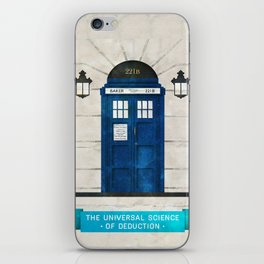 Doctor Who & Sherlock iPhone Skin