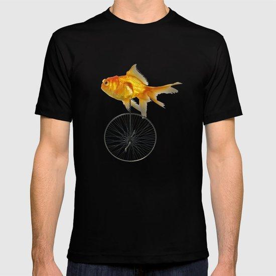 unicycle goldfish T-shirt