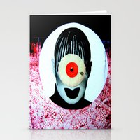 cyclops Stationery Cards featuring CYCLOPS by Moni Wilk