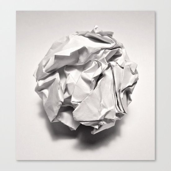 White Trash Canvas Print