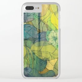 Vintage feel Clear iPhone Case