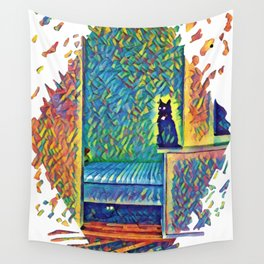 The Cats of Impressionism Wall Tapestry