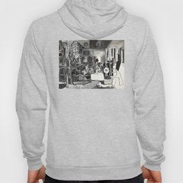 Pablo PIcasso The Maids Of Honor, Las Meninas, after Velázquez, 1957 Artwork Reproduction, Tshirts, Hoody