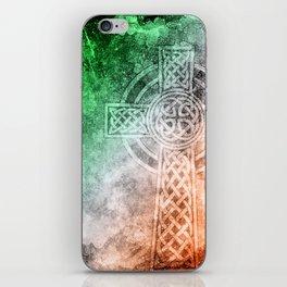 Irish Celtic Cross iPhone Skin