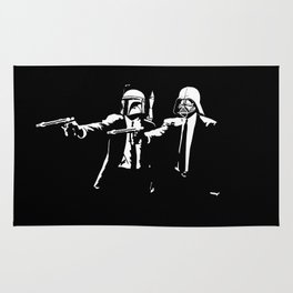 Pulp Fiction parody Rug