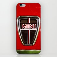 mini iPhone & iPod Skins featuring Mini by Anna Dykema Photography