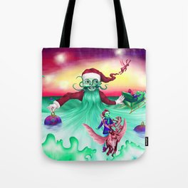 Coming home for Christmas Tote Bag