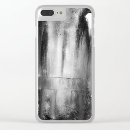 Halloween Rust Clear iPhone Case