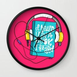 Book I Heard (HE102) Wall Clock