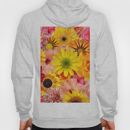 ORANGE FLOWERS Hoody