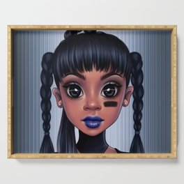 Left Eye Serving Tray