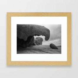 Remarkable Rocks 4 Framed Art Print