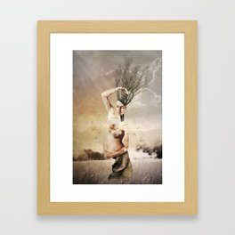 THE FOREST (II) Framed Art Print