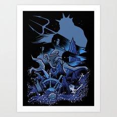 the sirens Art Print