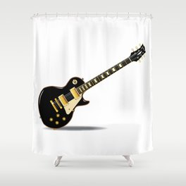 Solid Blues Shower Curtain