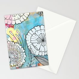 Petunia and Aster Stationery Cards