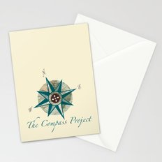 Compass Project Stationery Cards