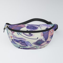 Psychedelic Strawberry Fields Fanny Pack