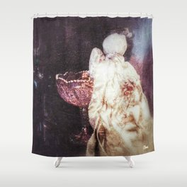 """Mary's Raggedy Angel""  Shower Curtain"