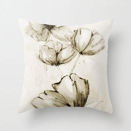 Vintage Life Throw Pillow