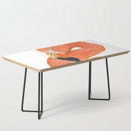 Breezy Flamingo by Teresa Thompson Coffee Table