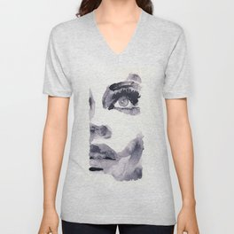 Epiphany - ink wash Unisex V-Neck