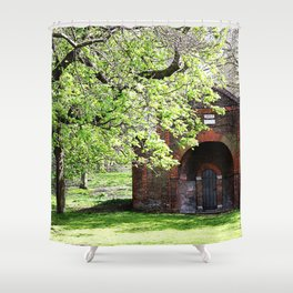 The Old Hospital Shower Curtain
