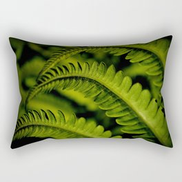 A Delicate Curtsy in the Breeze Rectangular Pillow