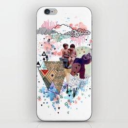 eramos niños iPhone Skin