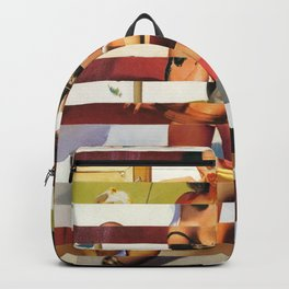 Glitch Pin-Up Redux: Britney Backpack