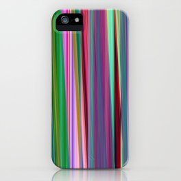 fall stripes iPhone Case