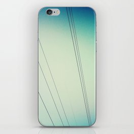 Power lines.  iPhone Skin