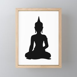 Simple Buddha Framed Mini Art Print