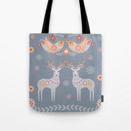 Nordic Winter Tote Bag