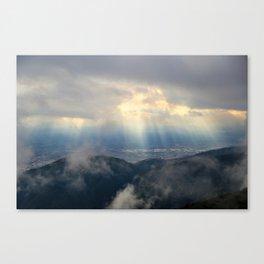 Heaven Descending Canvas Print