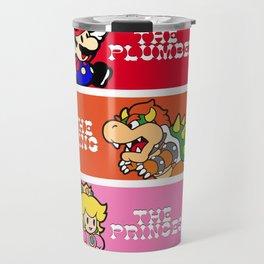 The plumber, the king and the princess Travel Mug