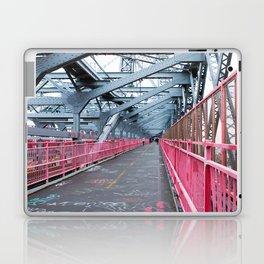 Across the Williamsburg Bridge Laptop & iPad Skin