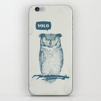 yolo iPhone & iPod Skins featuring YOLO by Balazs Solti