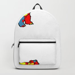uncle bear autism awareness month tee guys puzzle gift Backpack
