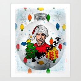 Best Christmas by Nico Bielow Art Print